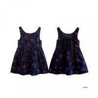 Printing Girl Princess Sleeves Dress Floral YESBABY Cotton Dress Anak