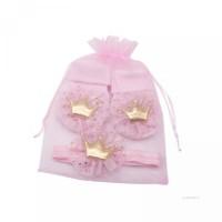 Foto dan Kaos Set Properti Renda My Mahkota dengan untuk Baby Katun Ba