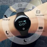 SANDA 100% Original Jam Tangan Gelang Pintar Bluetooth smartwatch