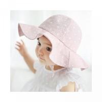 Topi Outdoor Motif Pantai sunnyday Bunga Bayi Bucket Musim Panas untuk
