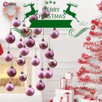 24Pcs Ornamen Bola Gantung Ukuran 3cm untuk Dekorasi Pohon Natal