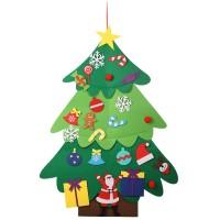 Ornamen Desain Pohon Natal Model Non-Woven untuk Dekorasi Natal