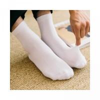 Socks Cotton Solid Short Men s Crew Ankle Socks