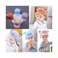 Bahan dan Unisex Topi Katun Baseball My untuk Breathable Baby Gambar d