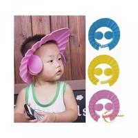 Topi Rambut Anti Telinga Shower Mata Proteksi TFA- Bayi Anak Mandi Ker