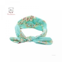 Perempuan 4Pcs Motif Bandana Bayi Print untuk Elastis