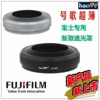 Fuji X100T X100F S X70 kap + cincin adaptor dapat dipasang dengan
