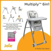 Joie Multiply High Chair 6 in 1 Kursi Makan Bayi