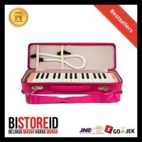 Pianika Marvel Pink + Hardcase Alat Musik Tiup TERUJI