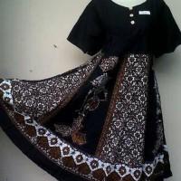 daster batik klok wayang hitam - batik halus Terjamin