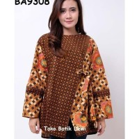 blouse batik yogyakarta | baju atasan wanita | baju batik Terjamin