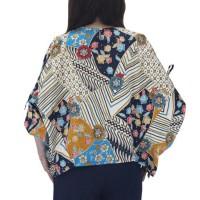 Atasan blouse batik wanita model batwing bahan katun strecth Terjamin