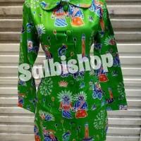 Blus batik ondel wanita batik DKI batik betawi Terjamin