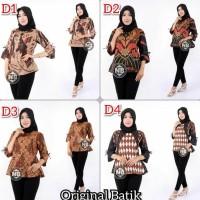 Atasan Blouse Wanita | fashion Batik wanita | grosir batik Terjamin