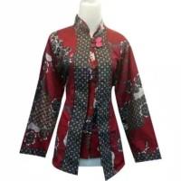 BLOUSE JUMBO | BIG SIZE | BLOUSE BATIK XXL | Baju batik wanita jumbo