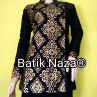Bluse Batik PRD Exclusive Black Gold Terjamin