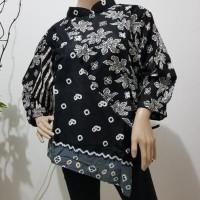 blouse kelelawar / outerwear kipas / blouse batik cendana Terjamin