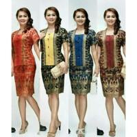 Rok & Blus Narita PD | Pabrik Baju Batik Wanita Grosir Murah Solo