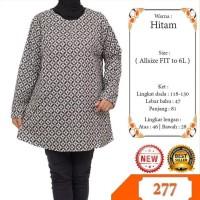 atasan blouse wanita ukuran JUMBO bahan katun motif batik Terjamin
