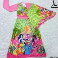 Baju Muslim Gamis Anak Perempuan 4 5 6 7 Tahun MAP007 - 6 Tahun