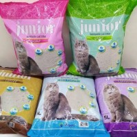 Ready Pasir Junior 25 Liter Cat Litter Wangi Gumpal Bentonite Promo