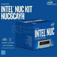 Intel NUC 6CAYH Intel CELERON FULL SET dengan pilihan HDD SSD RAM DOS