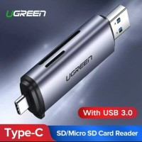 UGREEN Card Reader 2in1 USB 3.0 Type-C OTG Adapter Micro TF SD SDHC