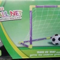 mainan gawang bola football net