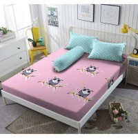 Sprei Kintakun D'luxe - NIGHT OWL - 180x200 (King)