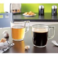 Coffee Glass/Tempered Glass/Mug Nuevo/Mug Glass/Gelas Kopi/Gelas Kaca