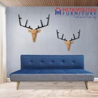 Free Ongkir JADEBEK! SOFA BED Scandinavian Appoline / Sofabed 3 Seater