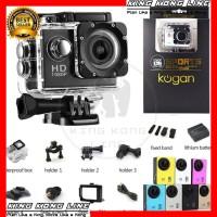Action Cam Camera Kogan 4K Kamera Sport Full HD 1080P GoPro Waterproof