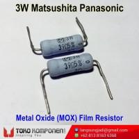470R 3W Panasonic MOX metal oxide film resistor 470 ohm 3 watt