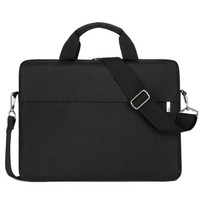 Tas Laptop Bag Selempang Sleeve Case Nylon Waterproof 13 inch - Hitam