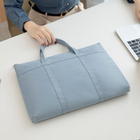 Tas Laptop/Macbook Sleeve Jinjing Women Woven Nylon 13 14 inch - blue