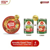 Arnotts Good Time Assorted Kecil + sarden ABC