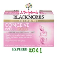 Blackmores Conceive Well Gold 28 Tablet dan 28 Kapsul