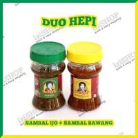 Paket Duo Hepi - SAMBAL IJO & SAMBAL BAWANG Khas Bu Rudy