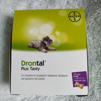 Drontal Dog 1 tablet/Obat Cacing Anjing/Obat Hewan/Dewormer
