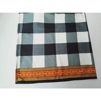 sarung kotak polos khas Bali kll 180cm