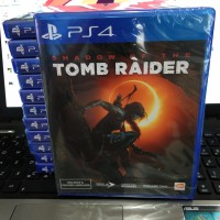 Bd / Kaset Shadow Of The Tomb Raider Ps4
