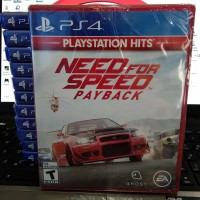 Bd / Kaset Need For Speed payback Ps4