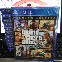 Bd / Kaset Grand Theft Auto V GTA V / Ps4