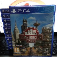 Kaset / Bd Constructor Plus Ps4