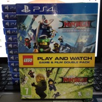 Kaset / Bd Lego ninjago dan The lego ninjago Movie Ps4