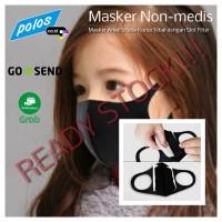 Masker Scuba Anak Tebal dengan Slot untuk Tambah Filter - Ready Stock