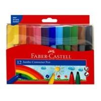 Faber-Castell Jumbo Connector Pen Set 12
