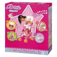 Mell Chan Mainan Anak Perempuan Mell Chan Baby Car Aksesori