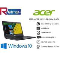Acer Aspire 3 A311-31-C64M   Intel Celeron N4000  BLACK