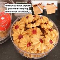 Kue Kering Semprit Selai Strawberry Wisman / Cookies / Homemade